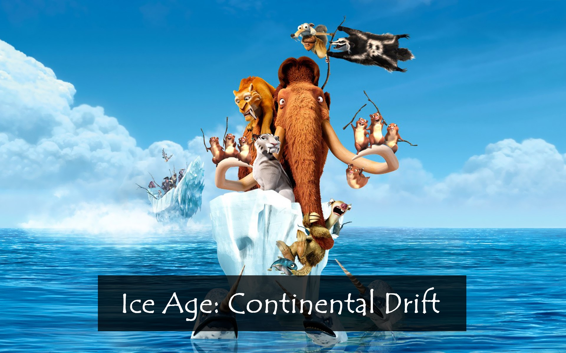 Ice Age Continental Drift